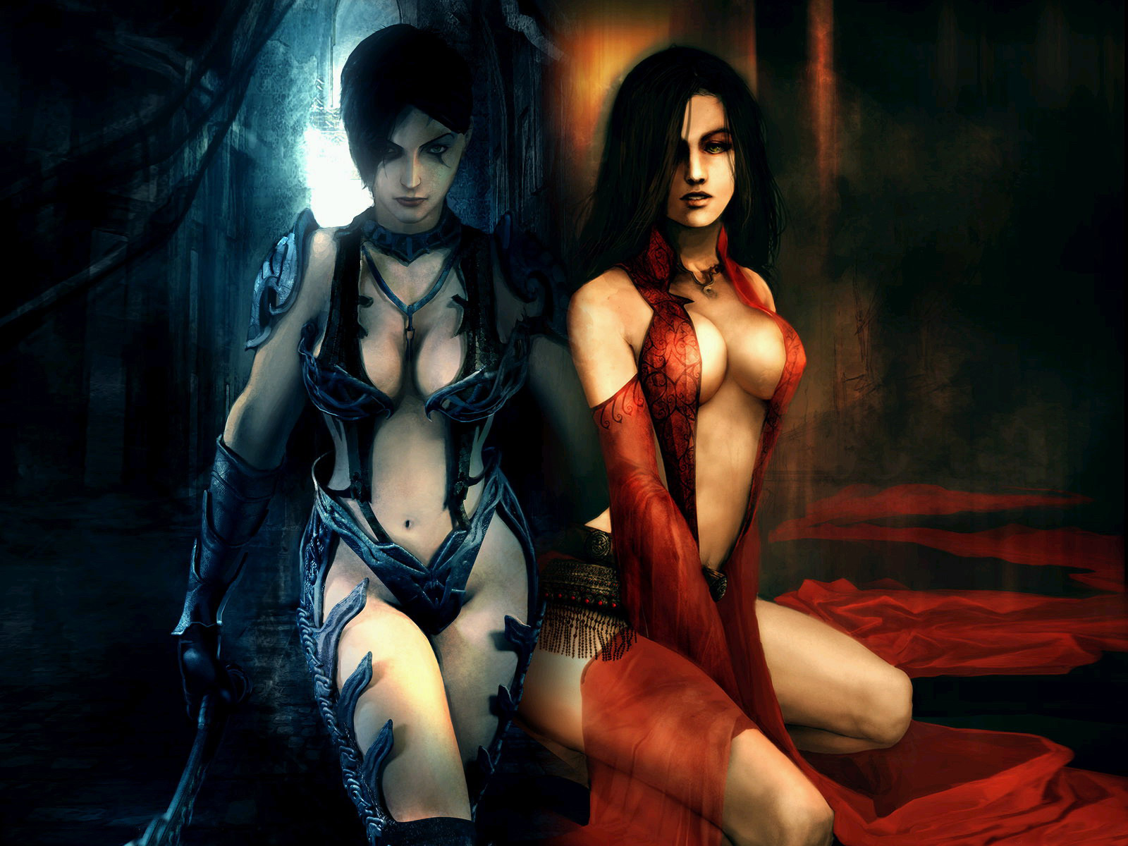 Prince of persia warrior within sexy undress  naked picture