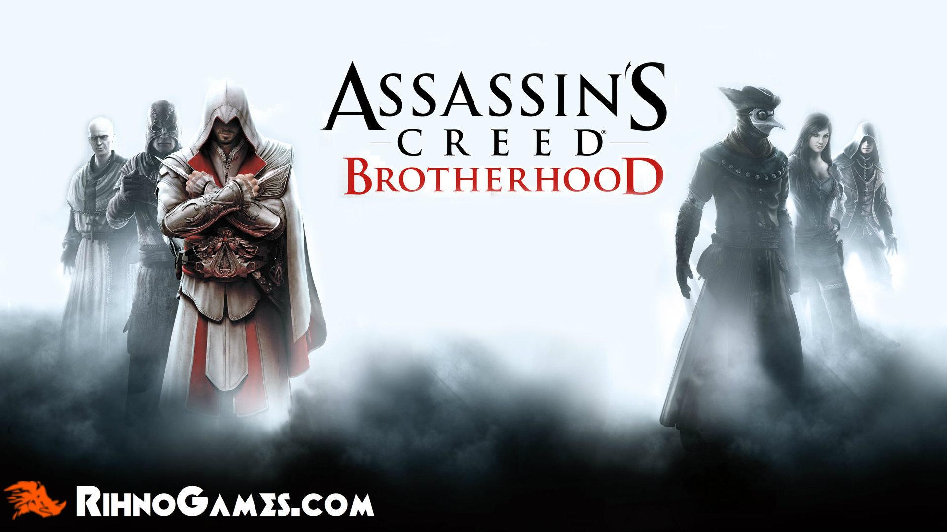 Assassin Creed Brotherhood Download Free for PC - Rihno Games