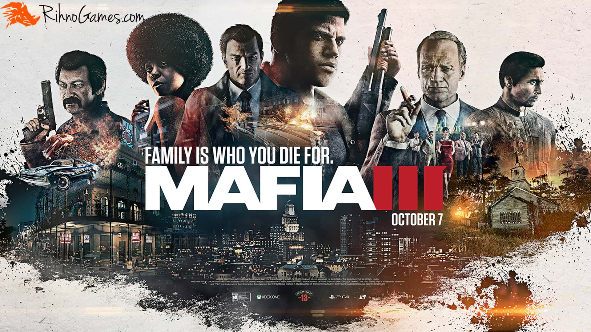 Mafia 3 Free Download
