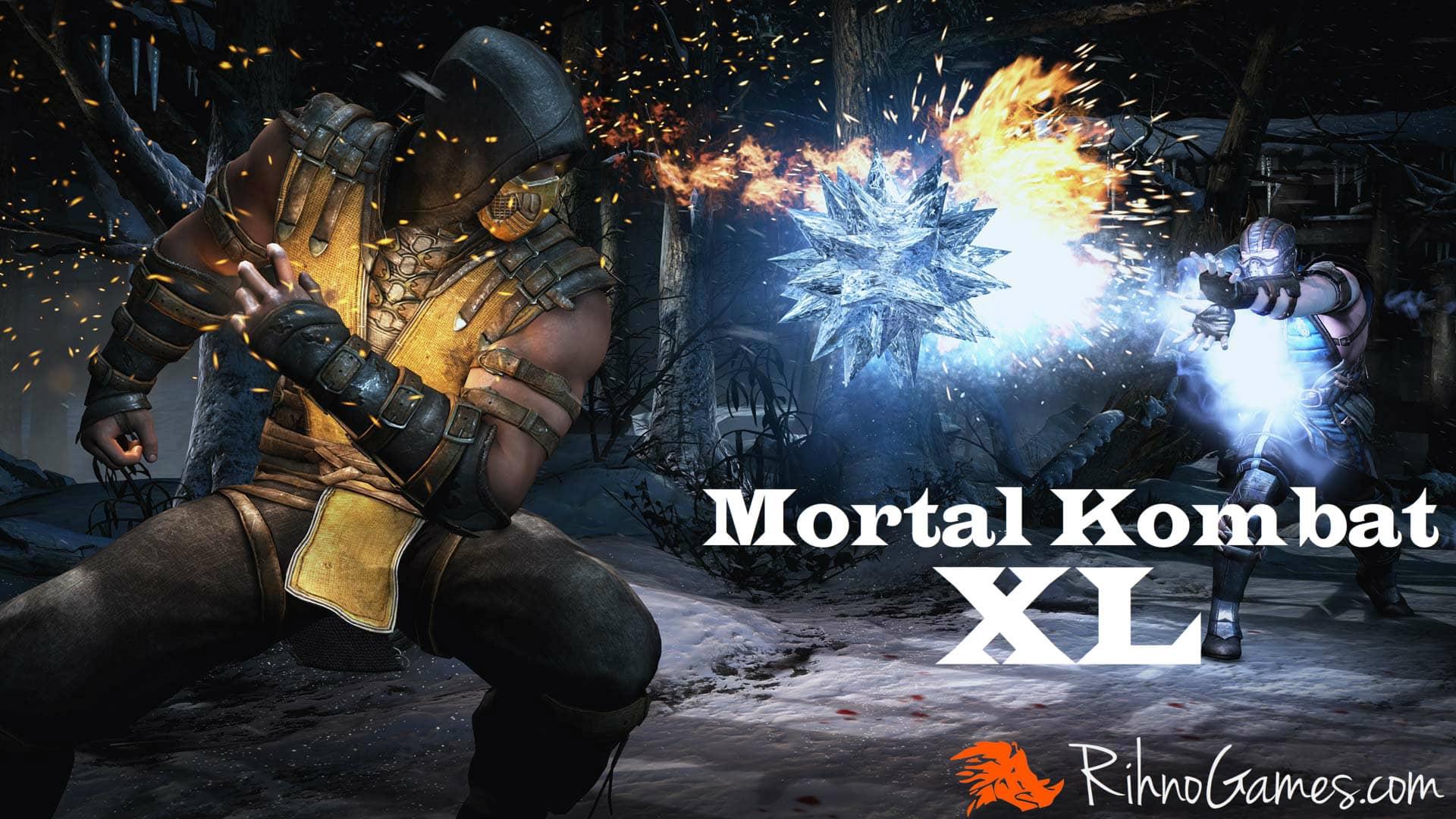 Mortal Kombat XL PC Download Free Full Game - Rihno Games