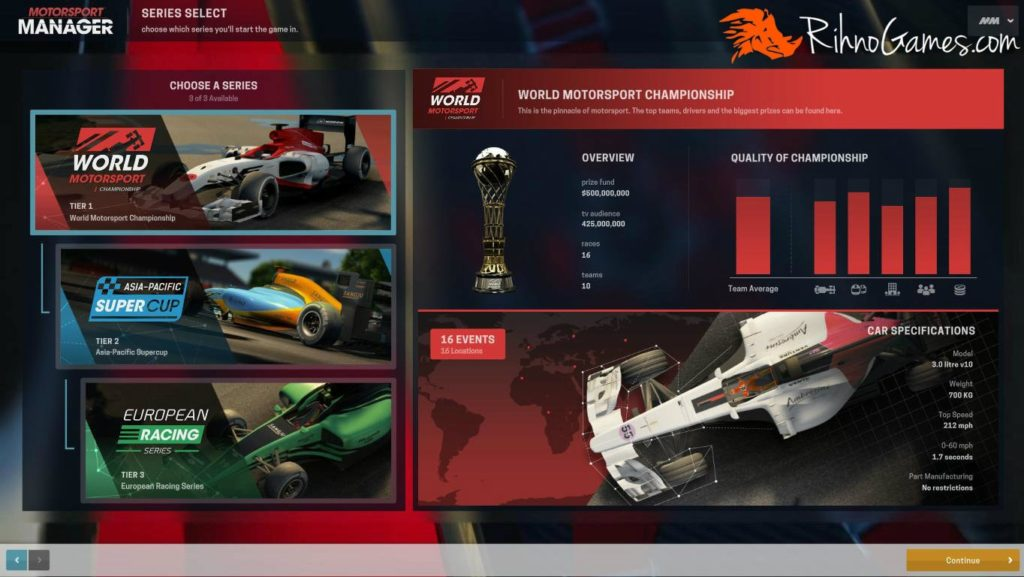 Motorsport Manager PC Game Download Free