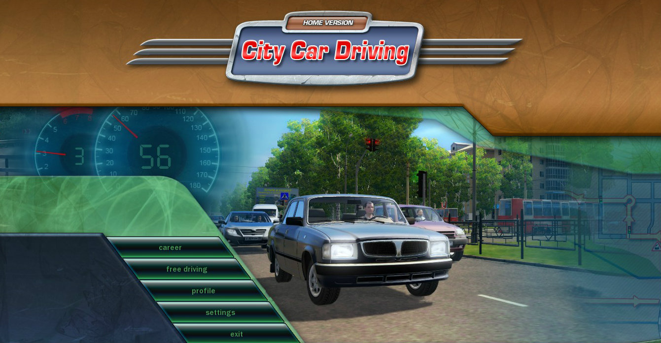City Car Driving Demo Game
