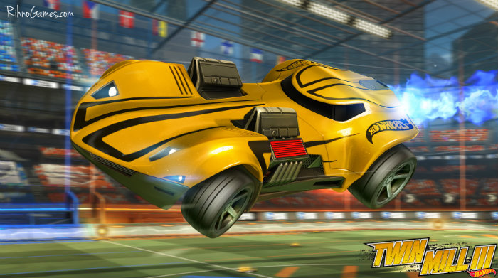 Rocket League Hot Wheels
