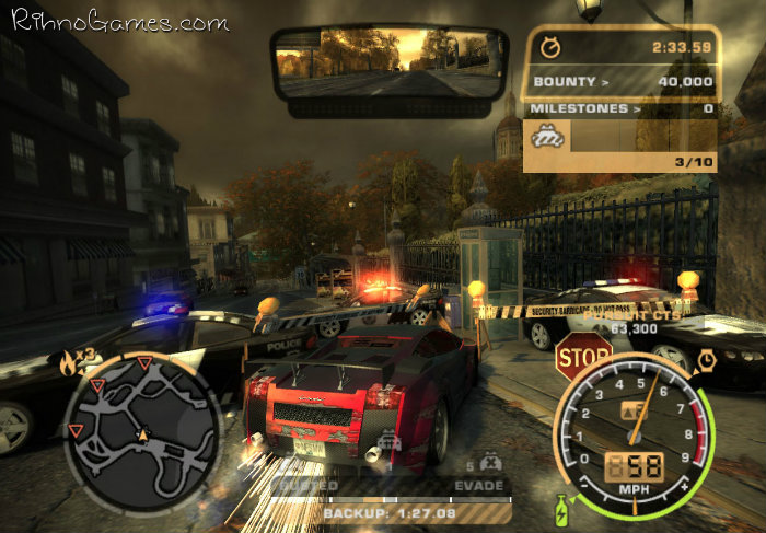 Need for Speed Most Wanted Download Free Game for PC - Rihno