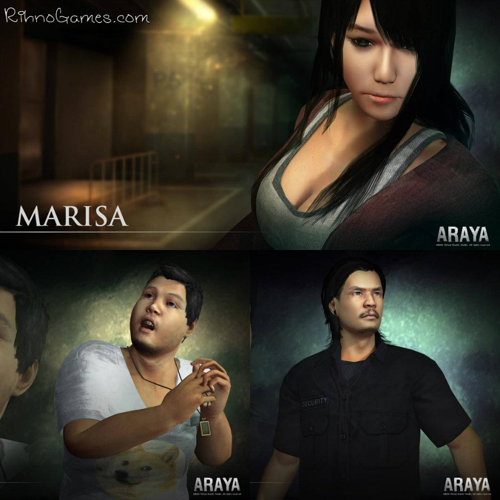 Araya Characters
