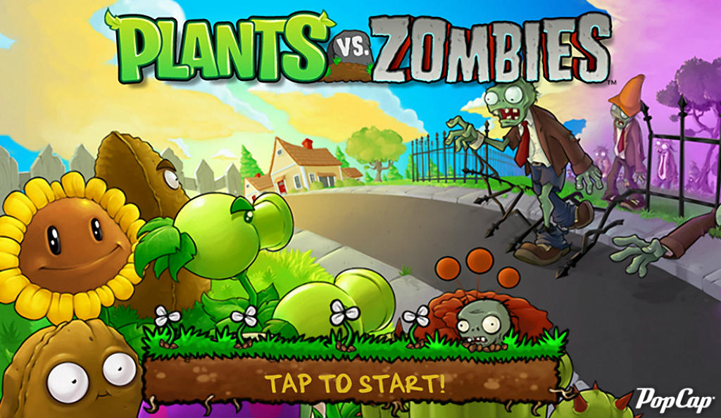 Plants Vs Zombies Game