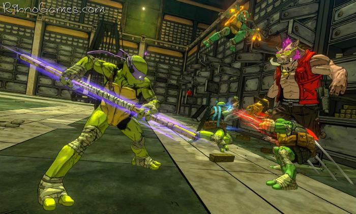 Teenage Mutant Ninja Turtles Mutants in Manhattan Free