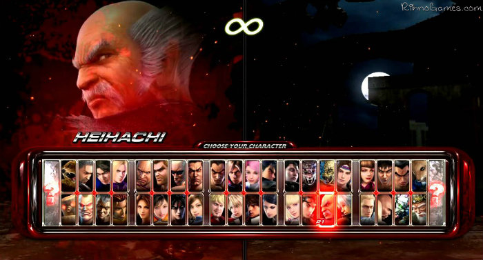 Tekken 6 Characters Full
