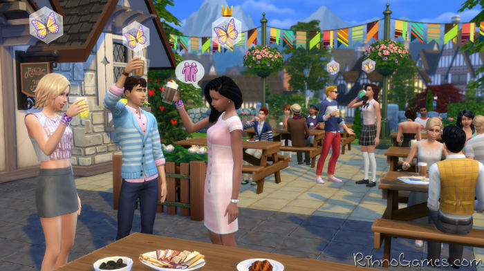 sims 4 get together download free