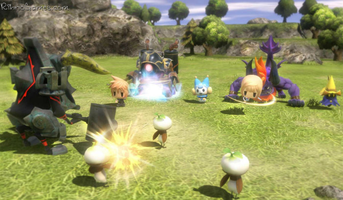 World of Final Fantasy PC