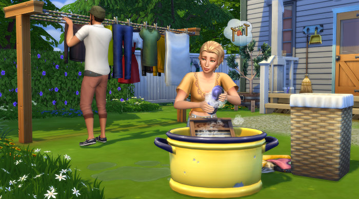 The Sims 4 Laundry Day Free Download