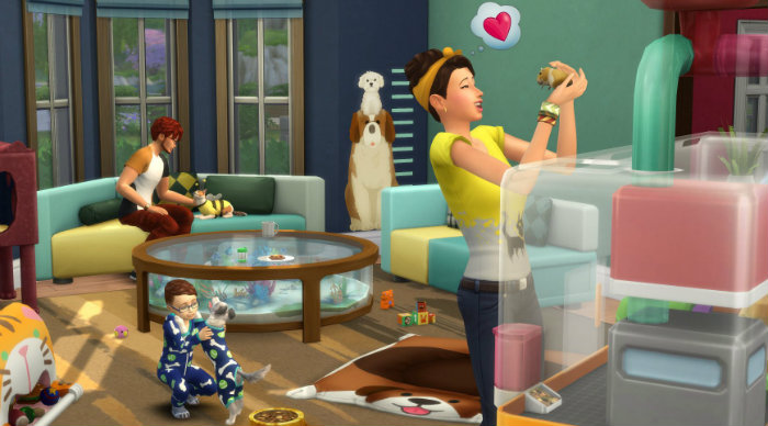 The Sims 4 My First Pet Stuff Update only