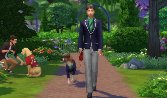 The Sims 4 My First pet Update