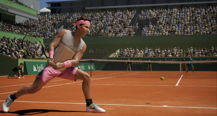 AO International Tennis Game