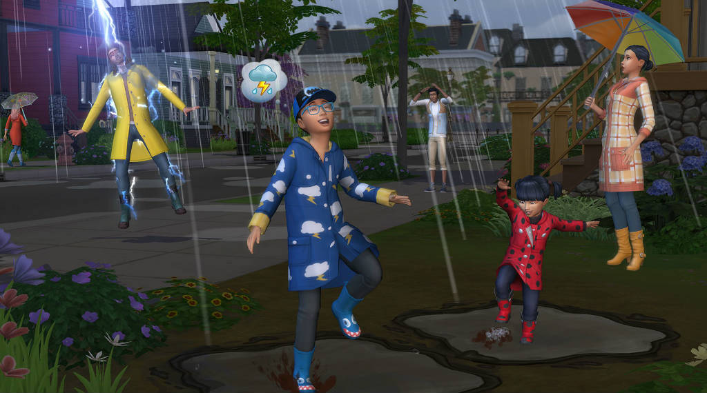 The Sims 4 Seasons free with ALL DLC