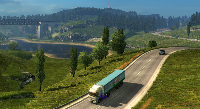 Download Euro Truck Simulator 2 Free for PC with DLC
