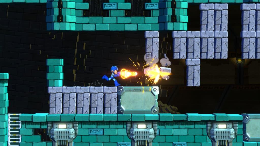 Mega Man 11 game
