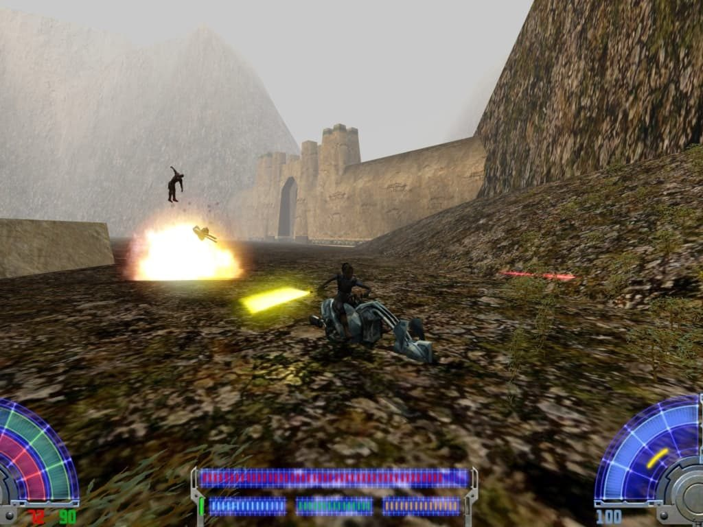 Star Wars Jedi Knight Jedi Academy game