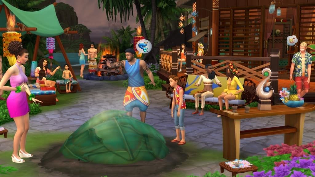 The Sims 4 Island Living Download