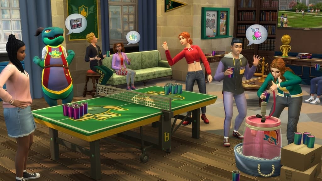 The Sims 4 Discover University all dlc