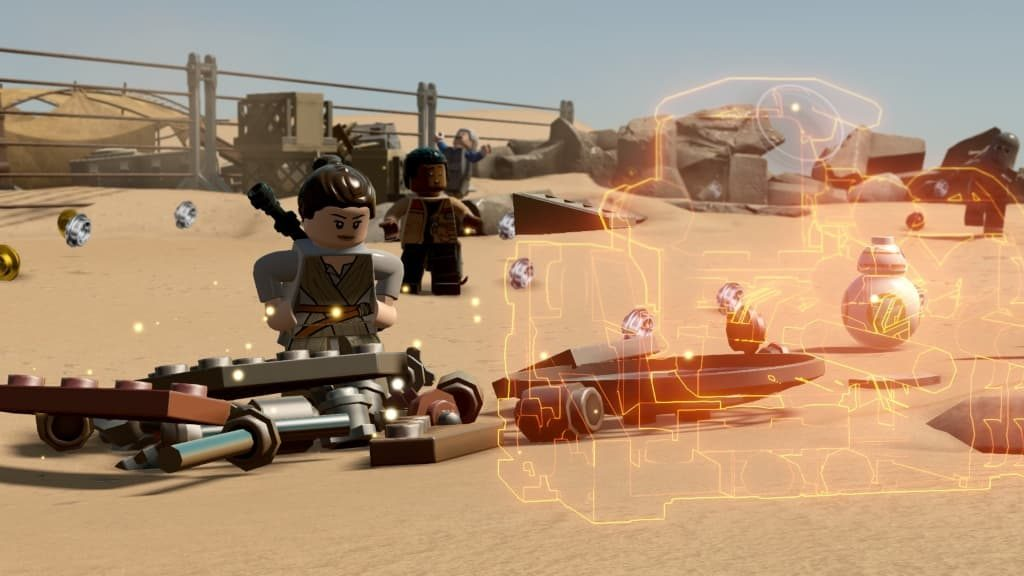 LEGO STAR WARS The Force Awakens Game free for PC
